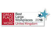 Great Place to Work® Best Large Workplaces United Kingdom 2016
